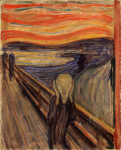 image of the painting The Scream by Edvard Munch